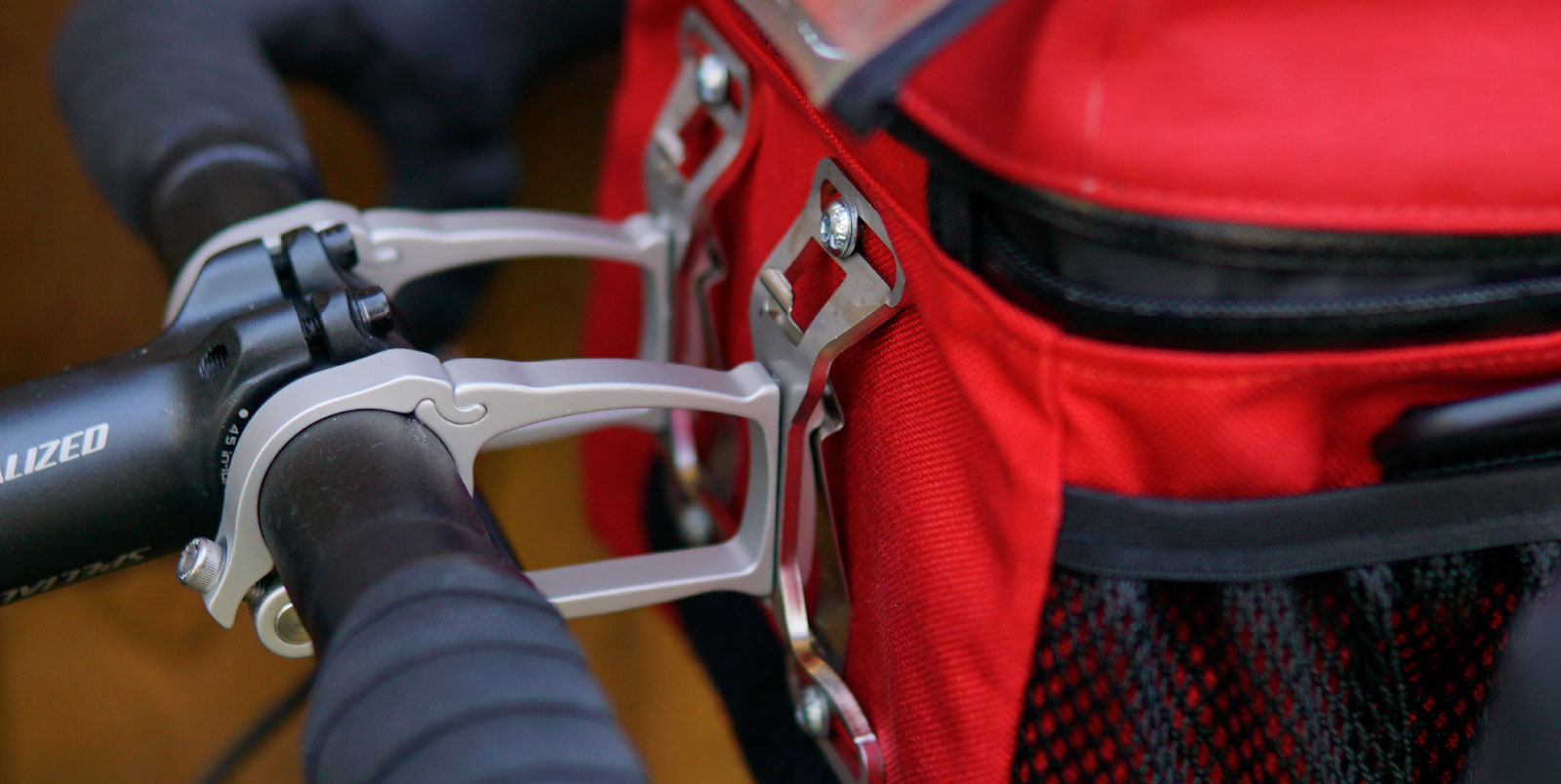 Arkel Handlebar Bag Mounts - Made of light and strong aluminum