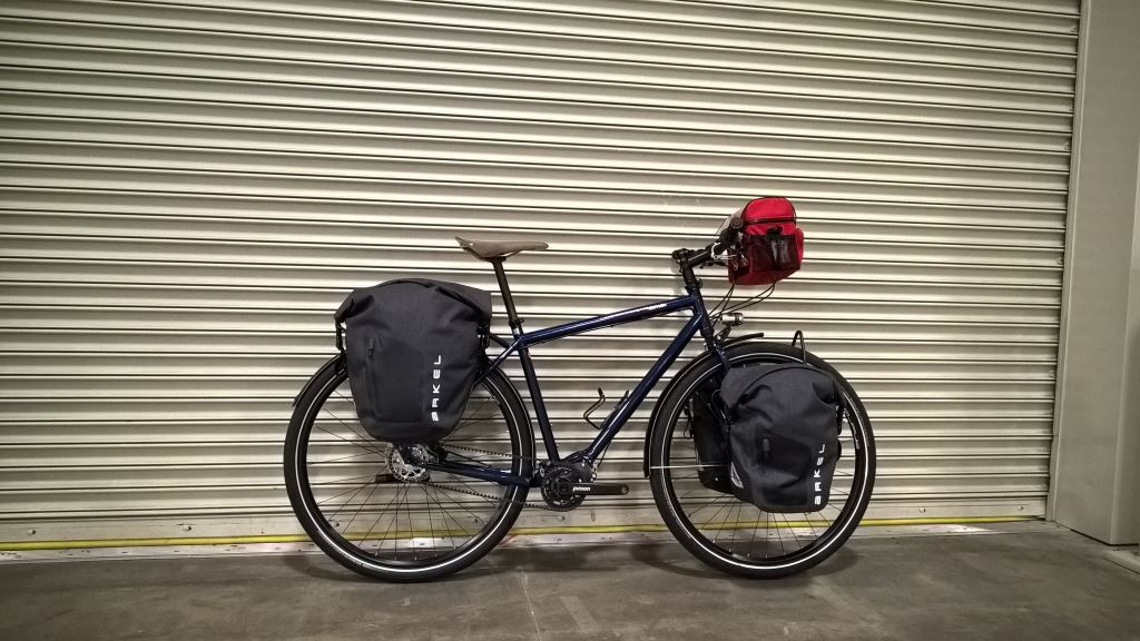 Arkel waterproof panniers