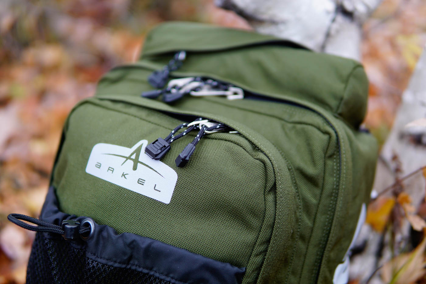 GT-18 Classic Panniers in new Moss color