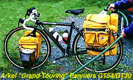 Image of a Bike pannier from Arkel
