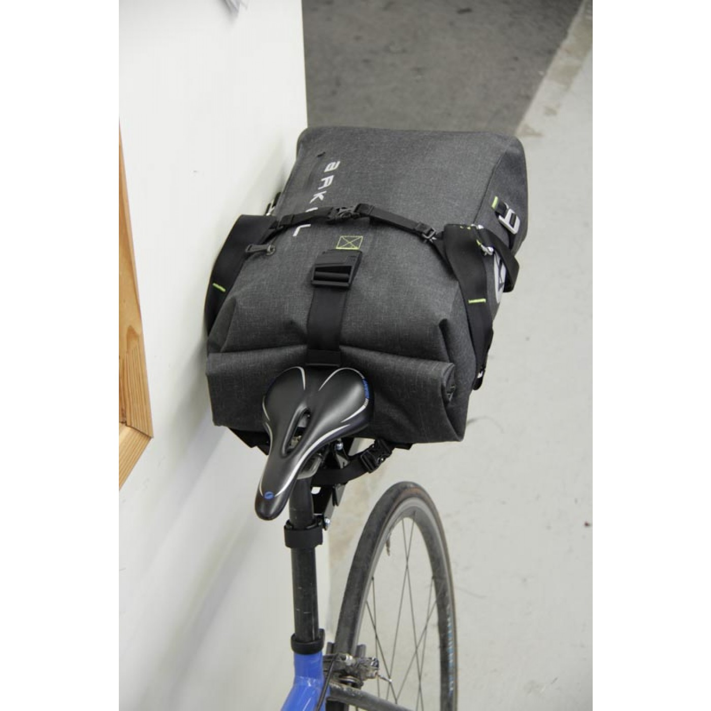 Arkel Drypack cycling backpack installed on the Randonneur Rack® e09a9b917dc54