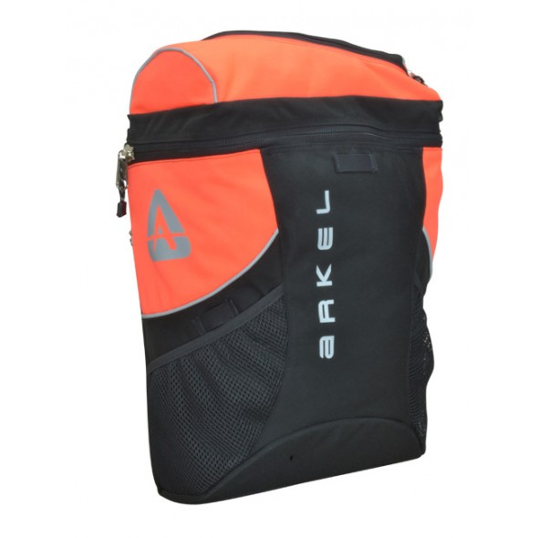 Arkel - City Basket - Black & Orange Commuting Pannier