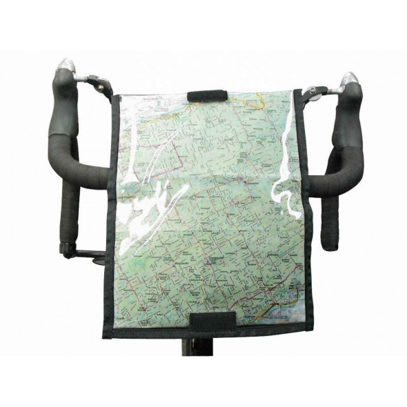 Arkel MapCase attached to handlebar