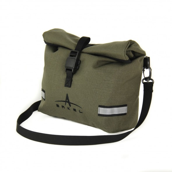 Arkel Signature BB waterproof handlebar bag in olive