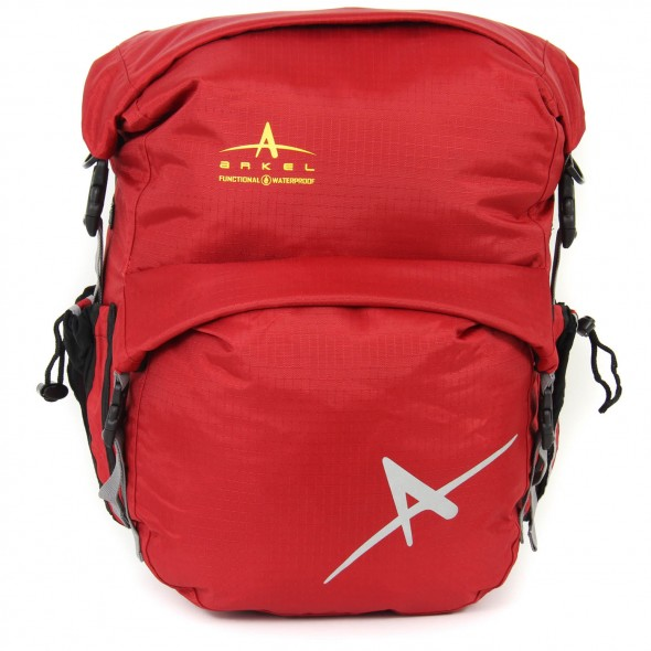Arkel Dolphin 48 - Waterproof Panniers - Red