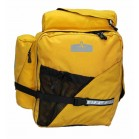 Arkel T-42 panniers in yellow.