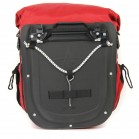 Arkel Dolphin 48 - Waterproof Panniers - Rear View With Cam-Lock mounting system