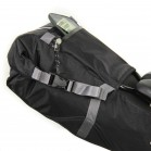 Seatpacker 9 bikepacking seat bag with zippered pocket
