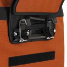 Arkel Signature H waterproof urban bike pannier equipped with Cam-Lock® mounting system