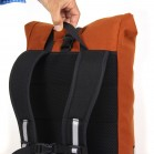 Signature M bike backpack with carry handle