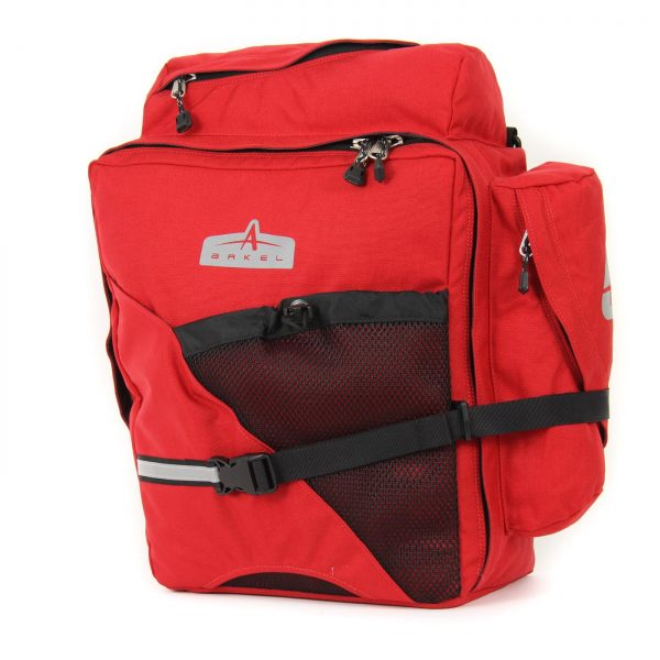 Arkel- T-42 panniers in red