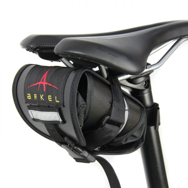 Arkel Waterproof Seat Bag - Black