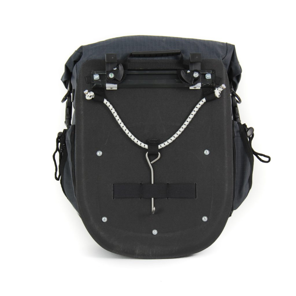 Dolphin 32 Waterproof touring Panniers with Cam-Lock and external plastic backplate