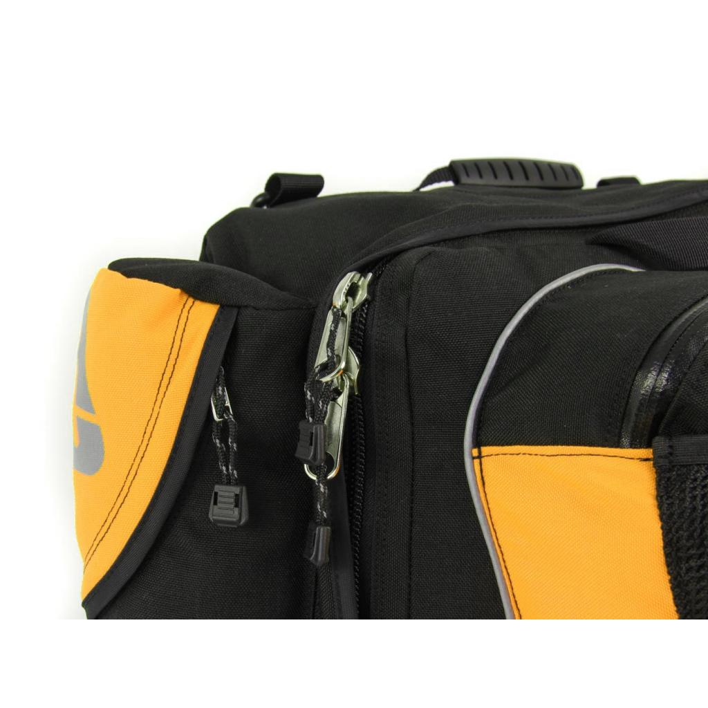 Arkel RT-40 Recumbent Panniers with large zippers