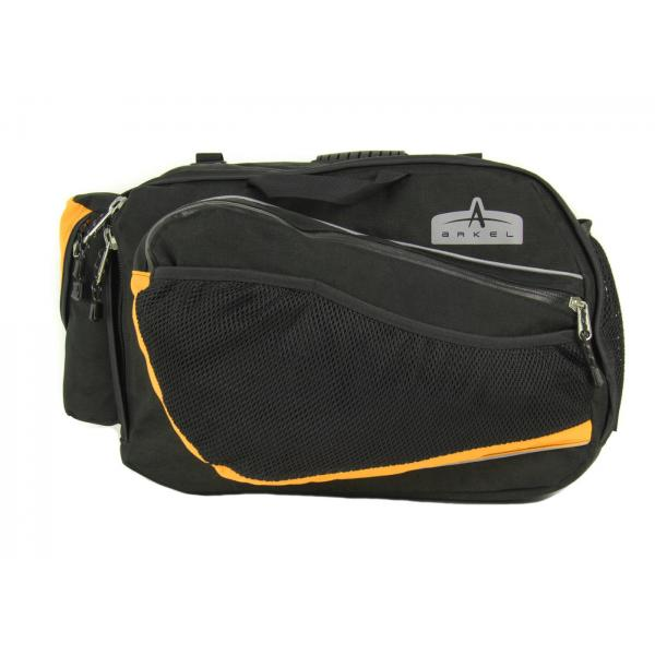 Arkel RT-40 Recumbent Panniers with yellow accents