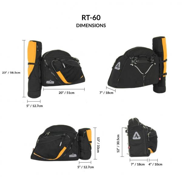 RT-60 Recumbent Panniers (pair)-2721