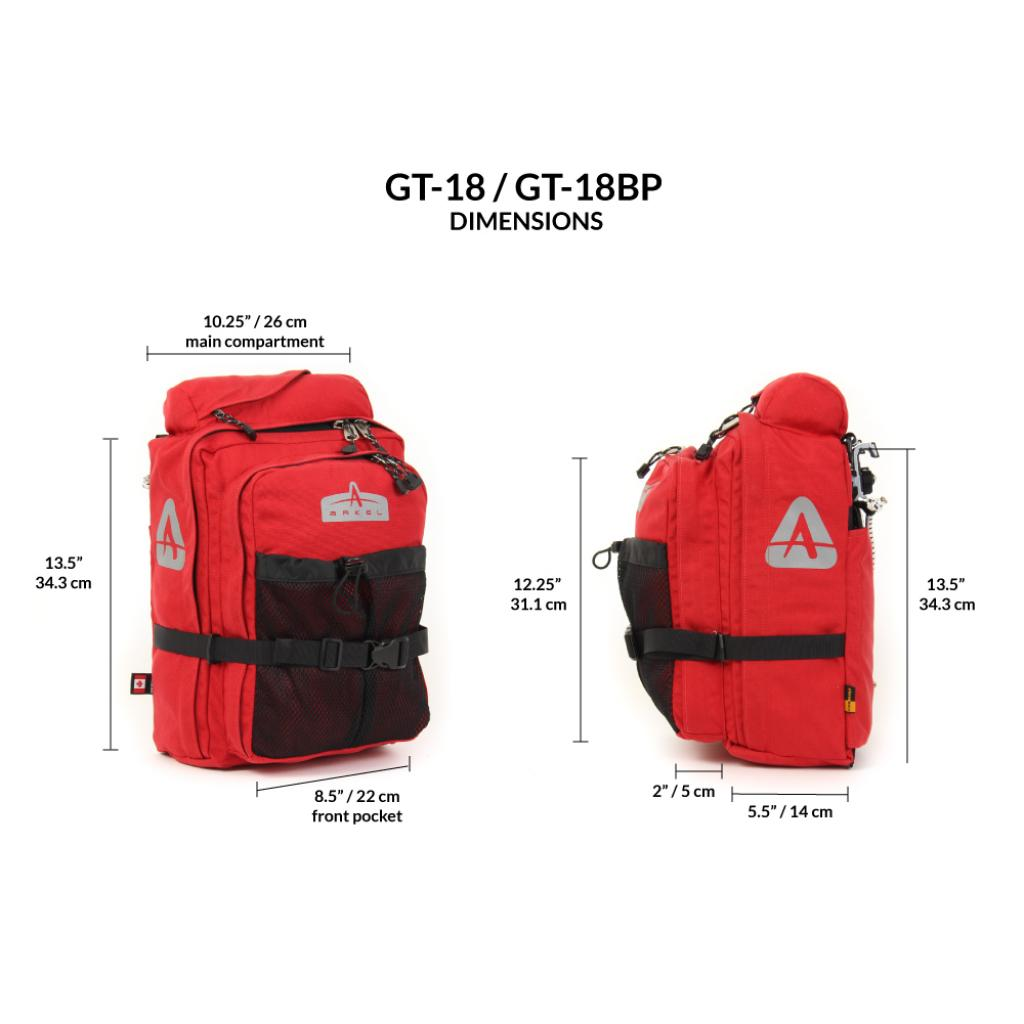 GT-18 Convertible Backpack Pannier(unit)-2241