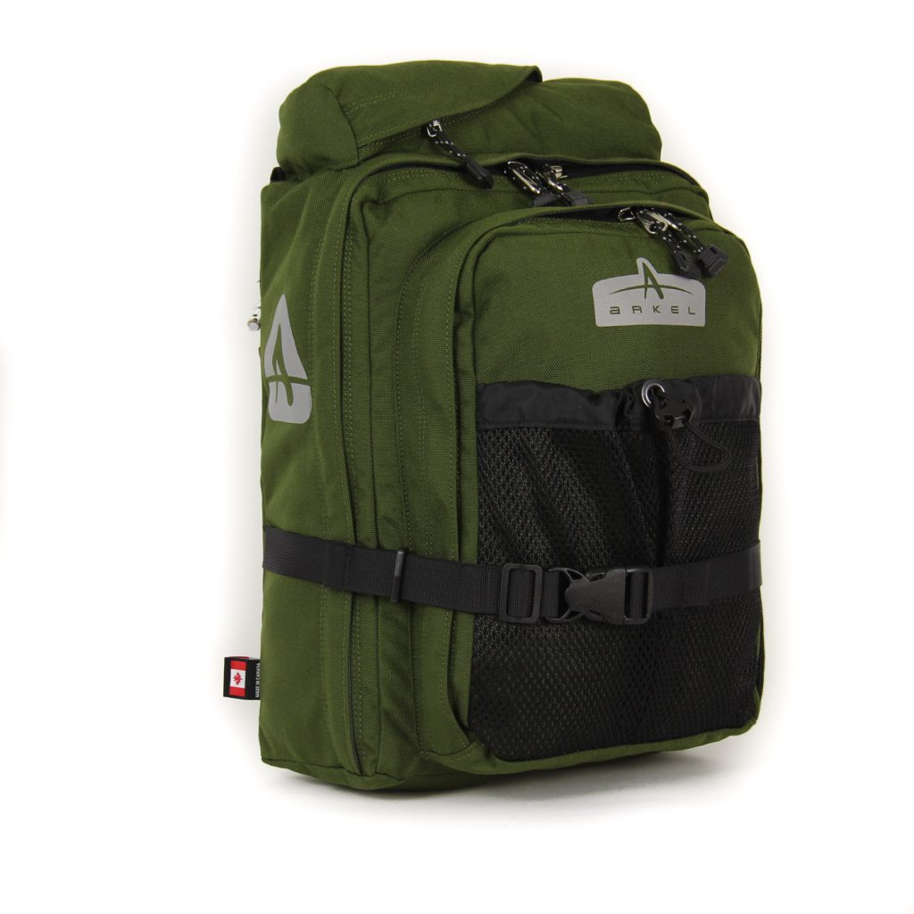 GT-18BP Pannier Backpack Moss
