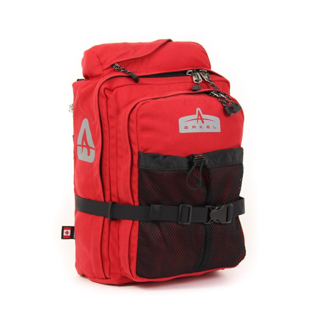 GT-18BP Pannier Backpack Red
