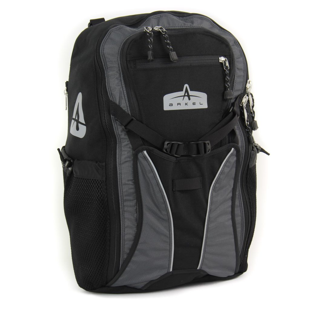 Arkel Bug - Pannier Backpack - Black with Grey