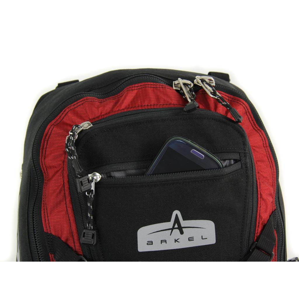 Arkel Bug - Pannier Backpack - Key cell phone wallet pocket