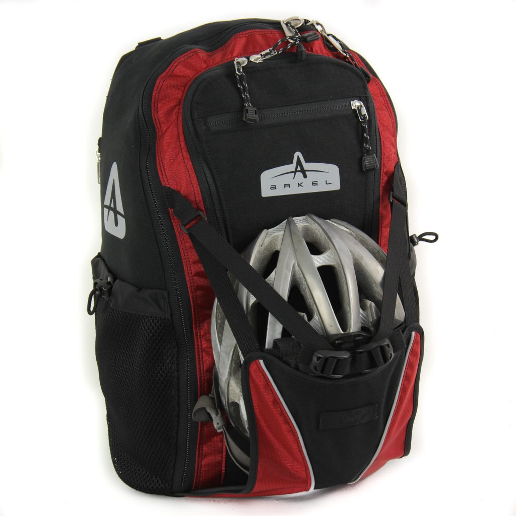 Arkel Bug - Pannier Backpack - Helmet Holder