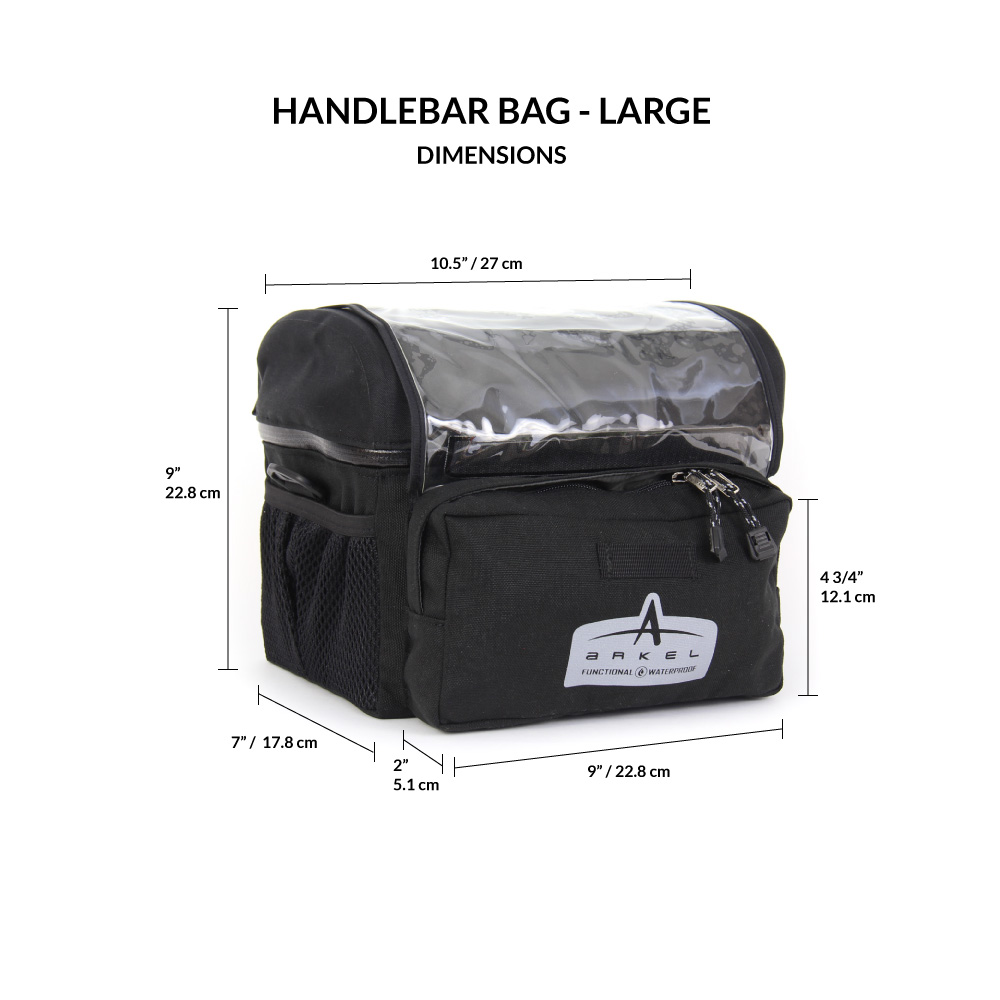 Handlebar Bag - Large-2196
