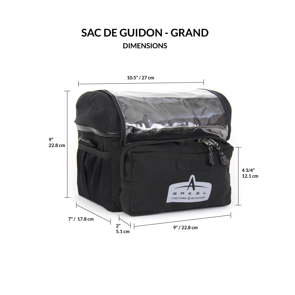 Handlebar Bag - Large-2195