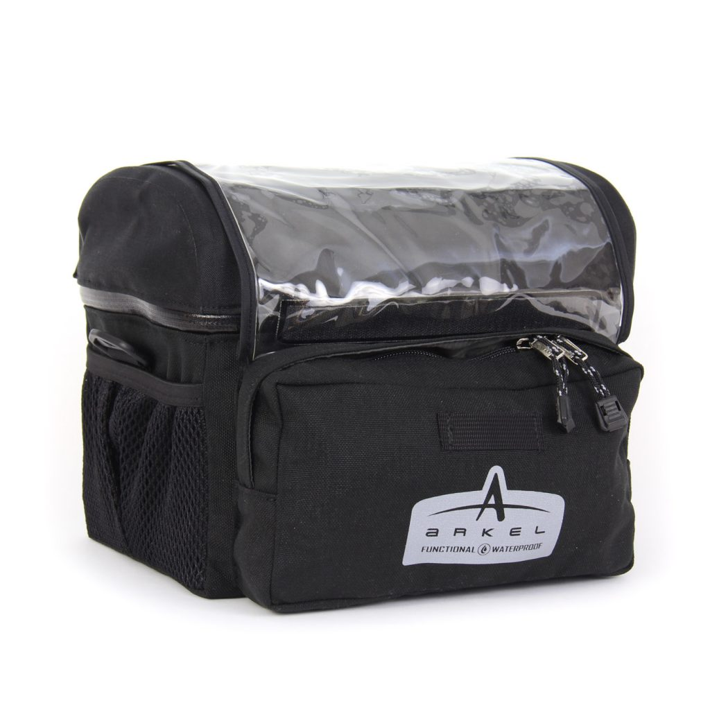 Arkel Waterproof Handlebar Bag Large - Black