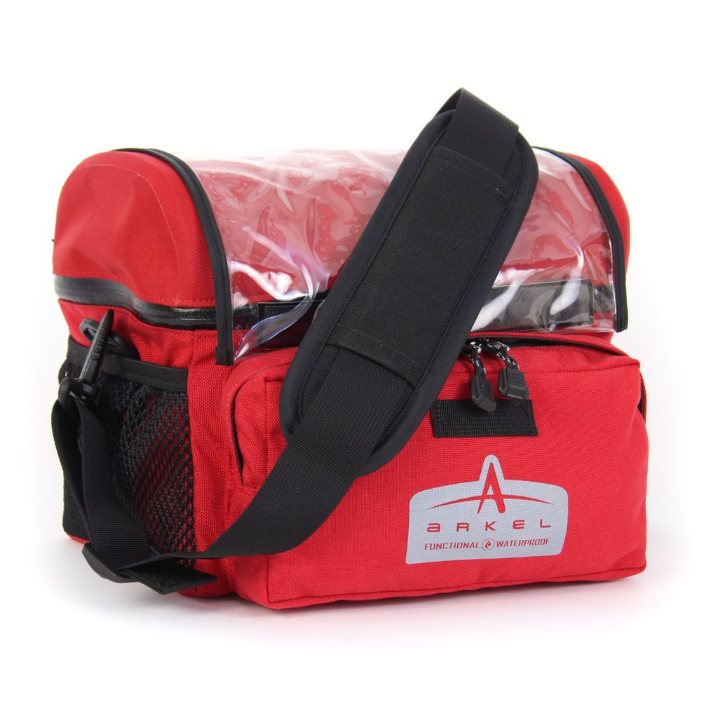 Arkel Waterproof Handlebar Bag Large - Includes DLX Shoulder Strap