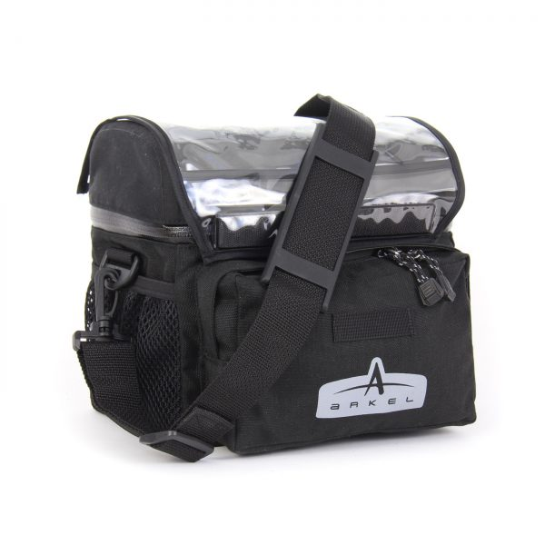 Arkel Waterproof Handlebar Bag Small With Shoulder Strap