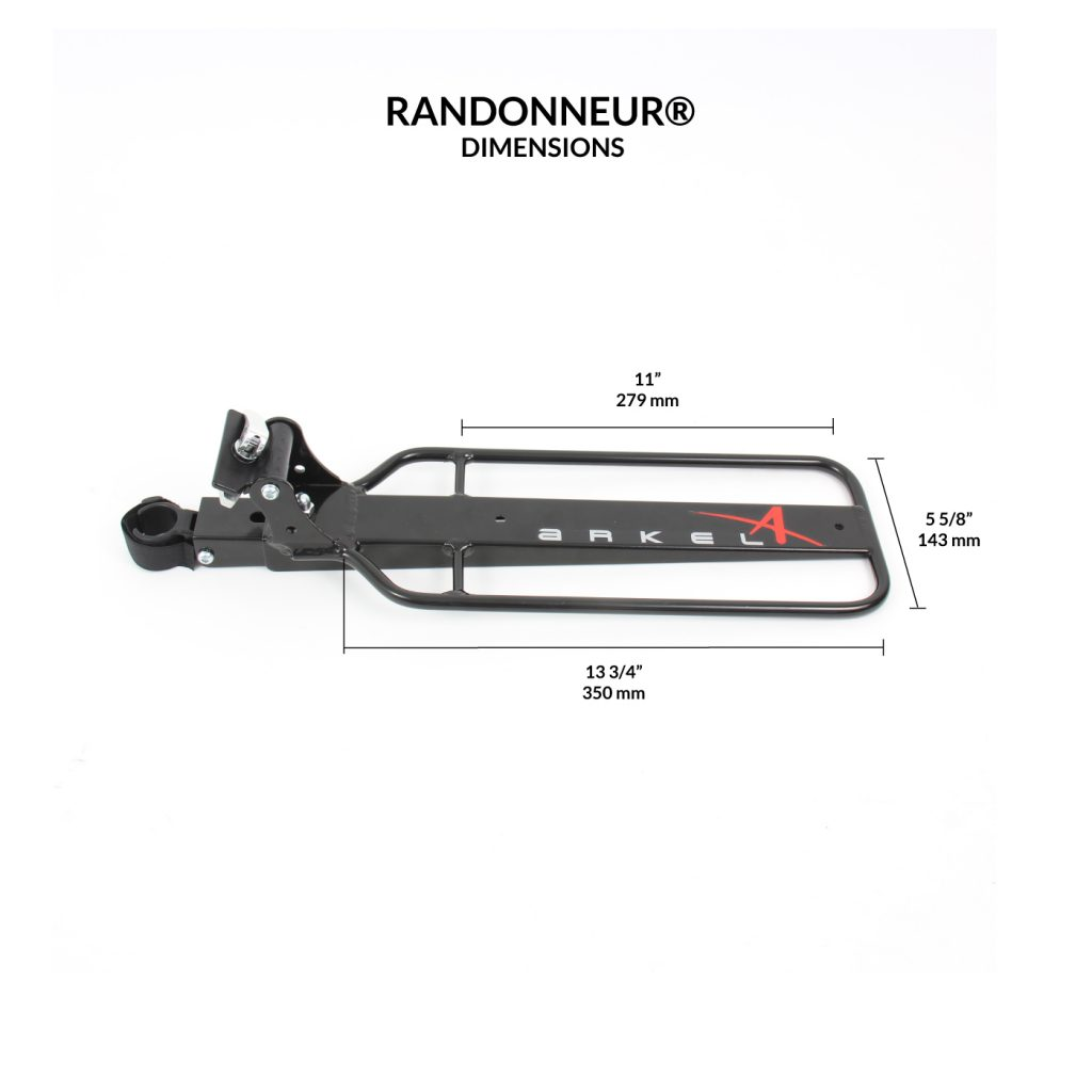 Randonneur Seat Post Rack®-2305