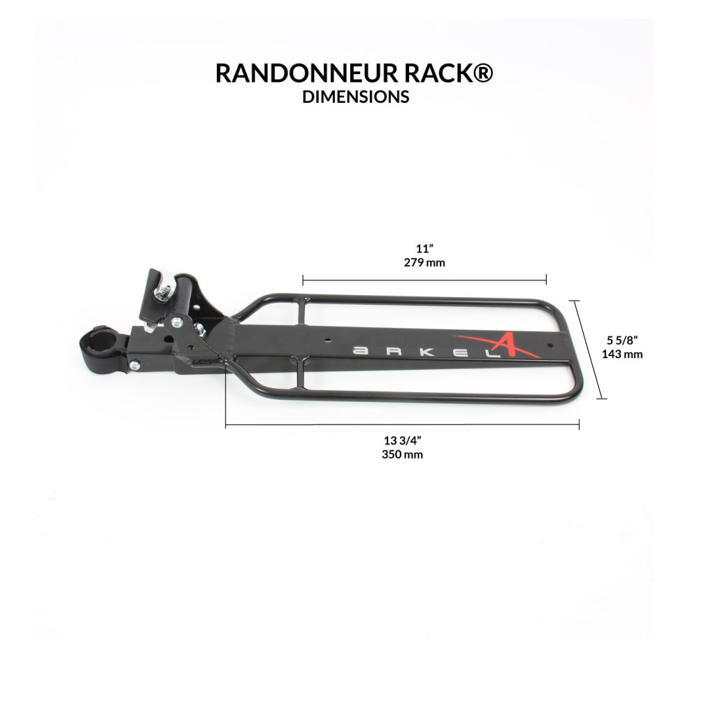 Randonneur Seat Post Rack®-2304