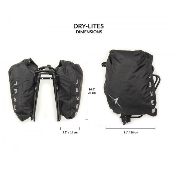 Dry-Lites Waterproof Saddle Bags(Pair)-2660