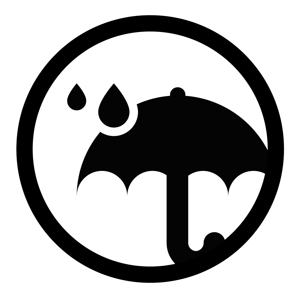 Waterproof logo