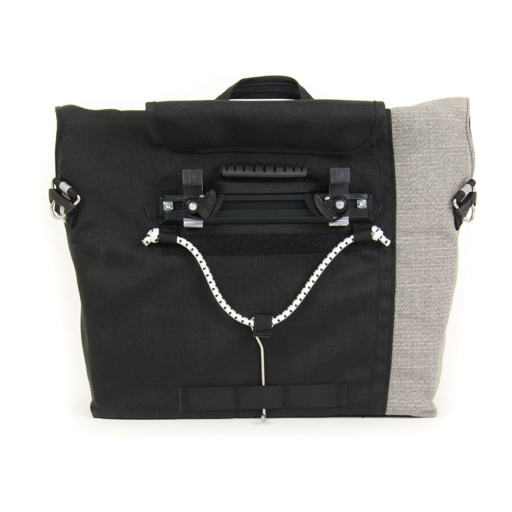 Briefcase is equipped with Cam-Lock mounting system