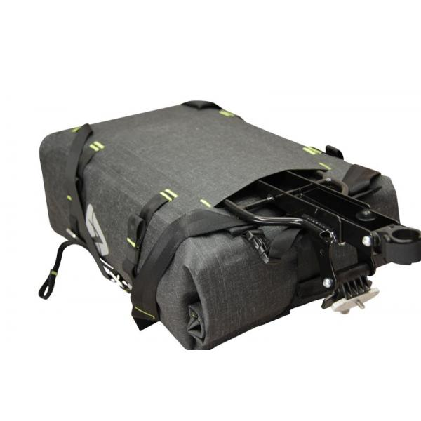Arkel Drypack cycling backpack can slide onto the Randonneur Rack®