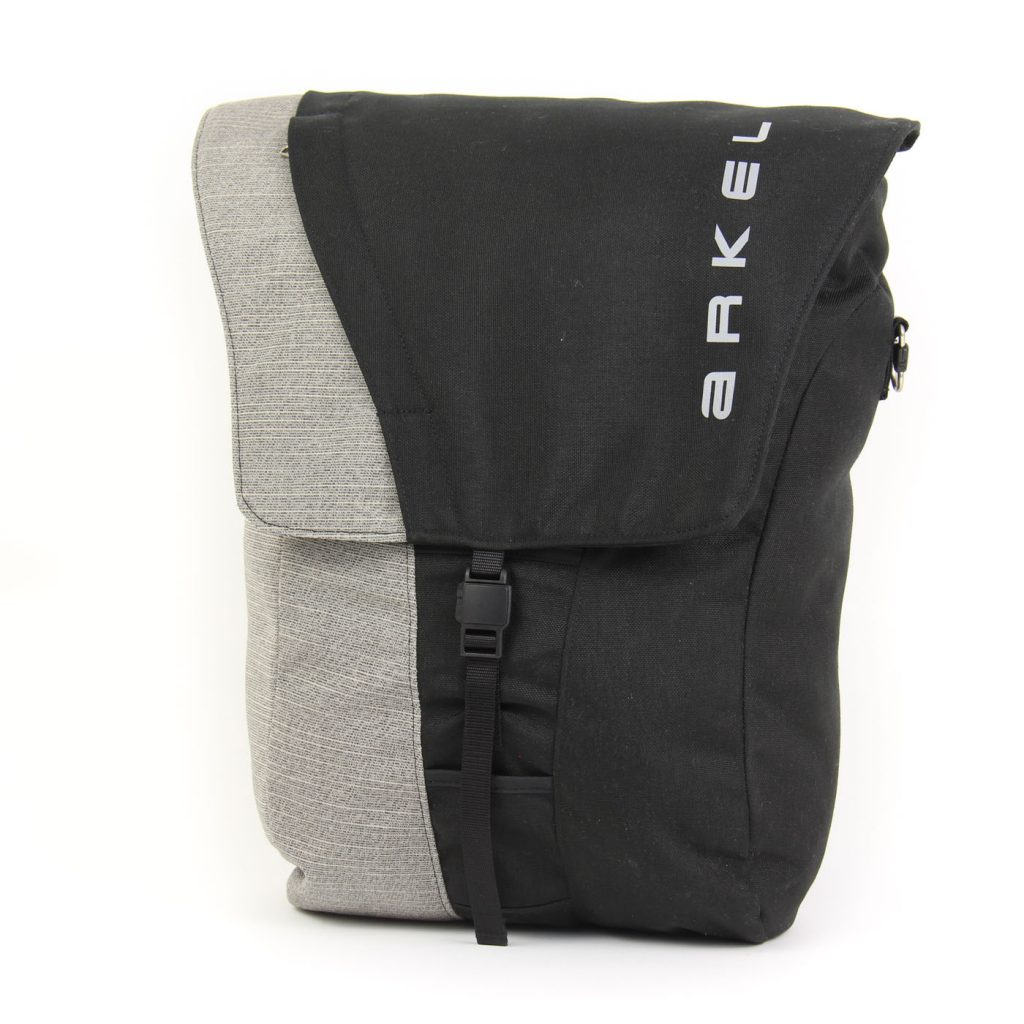 Commuter pannier in black