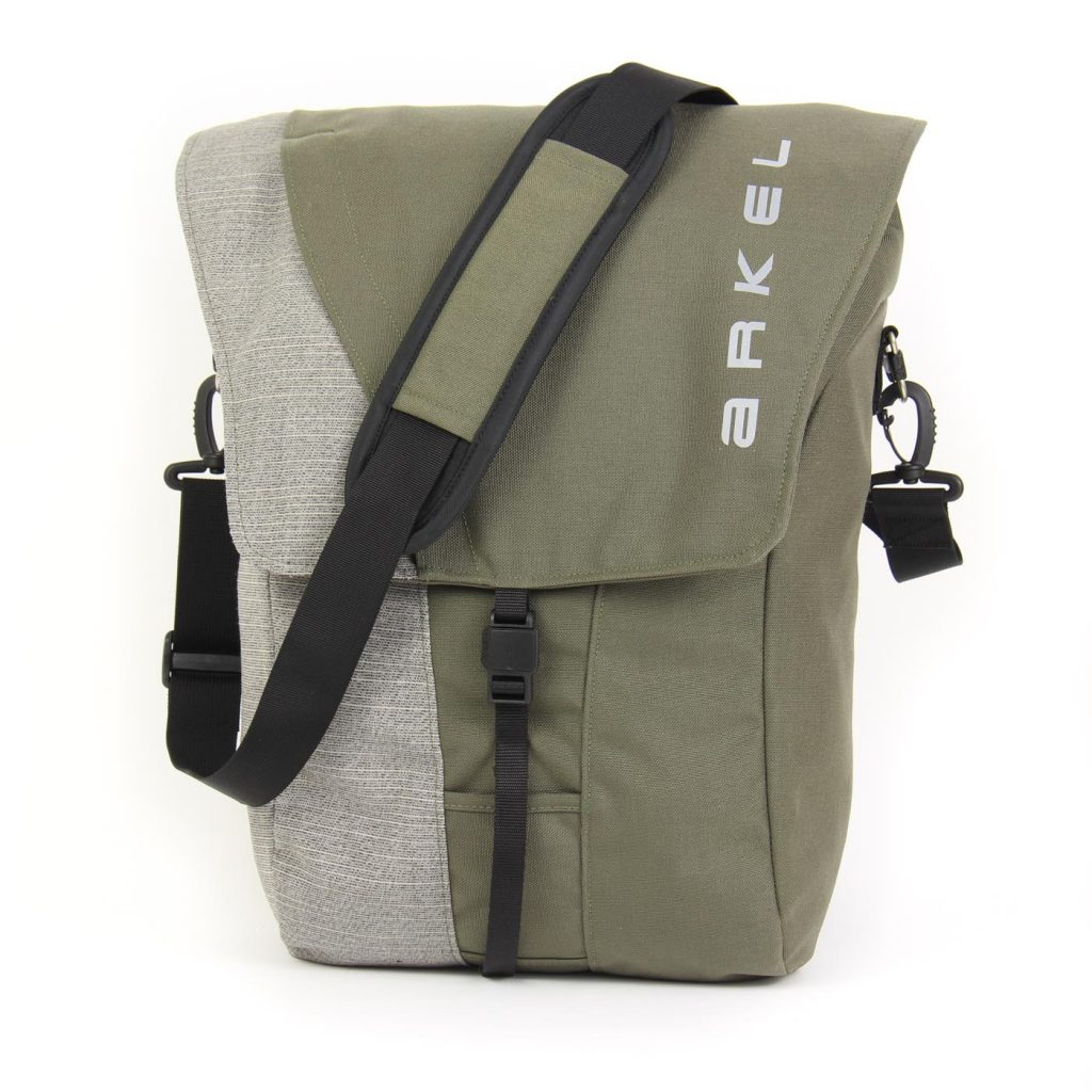 Commuter Olive color with shoulder strap