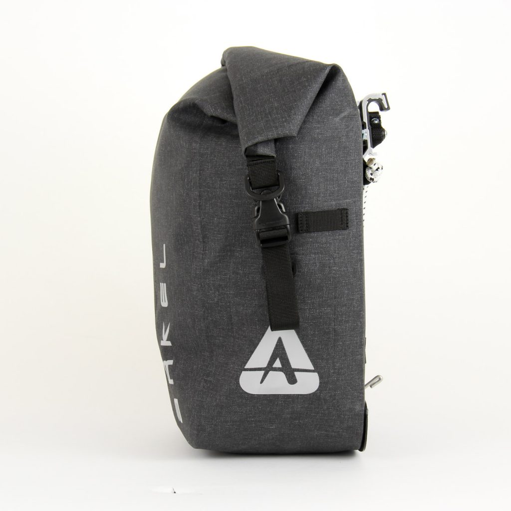 ORCA 35 waterproof touring panniers side view