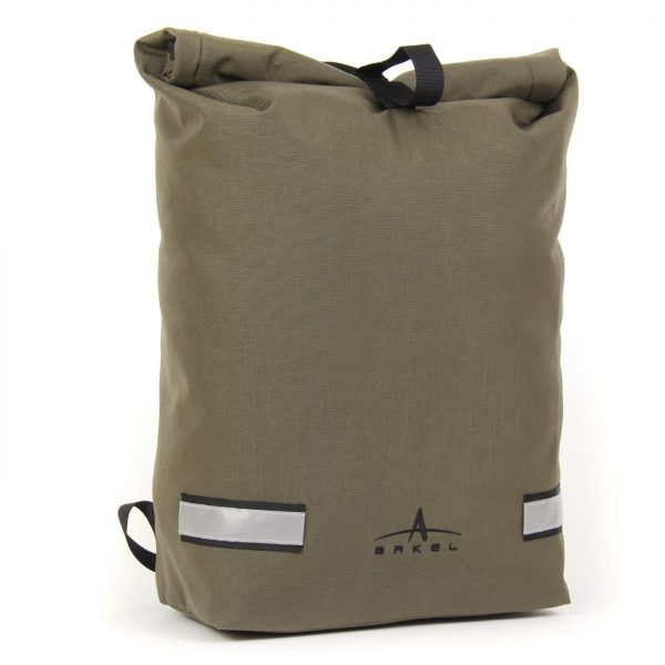 Signature D sac à dos pour cycliste oliveCycling backpack in olive