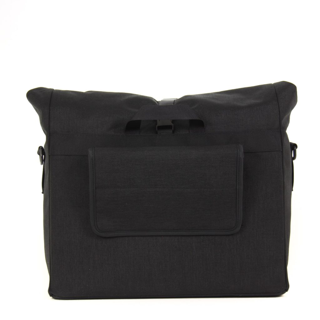 Arkel Signature H waterproof urban bike pannier with hook system covered for off the bike travel