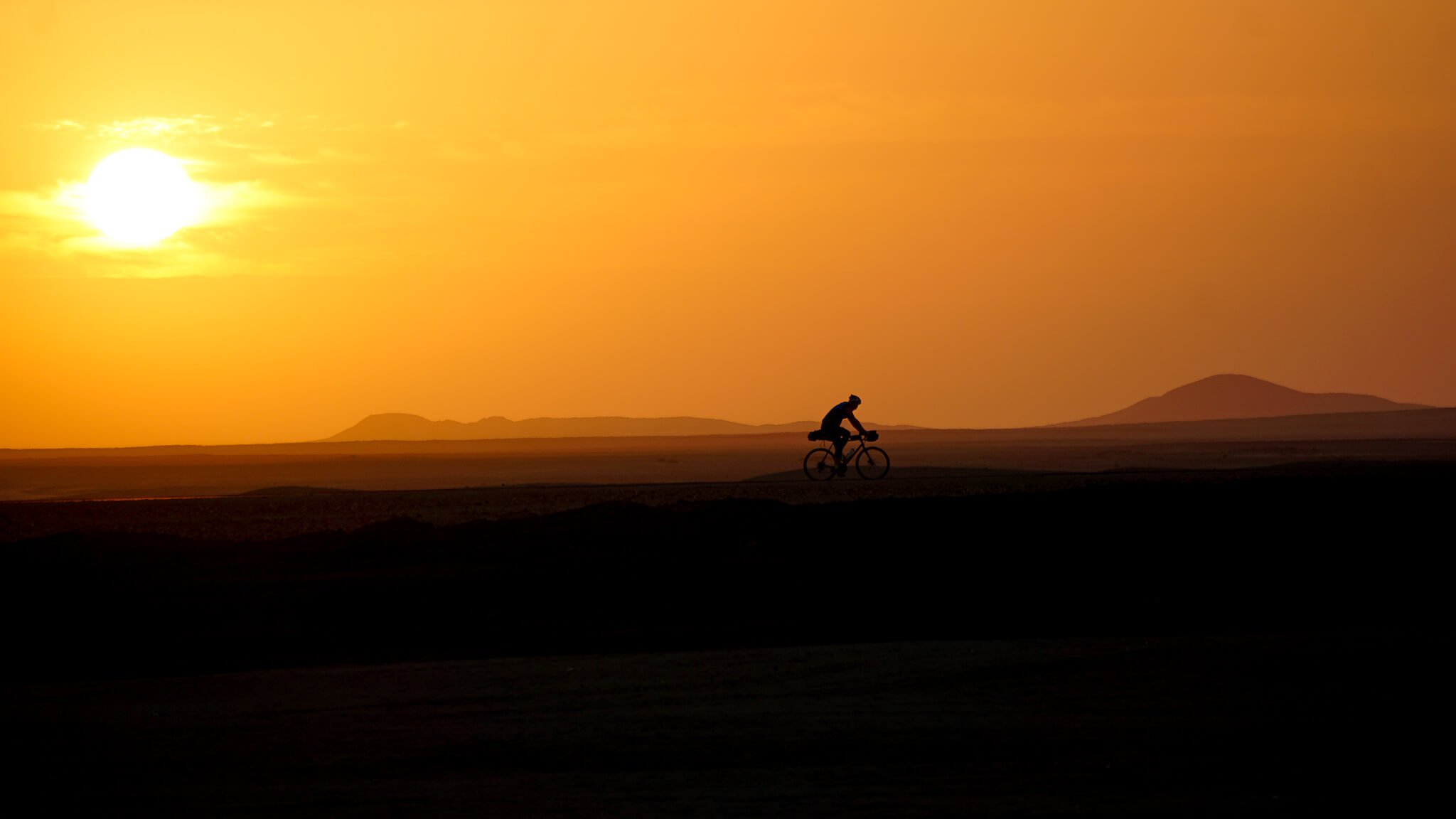 In The Mind of A Cyclist Crossing Africa by Samuel Roy